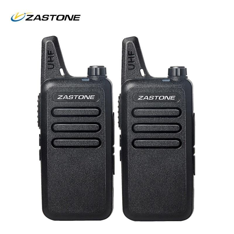 2 шт./лот Новый ZT-X6 UHF 400-470 мГц черный ручной трансивер CB радио мини-портативная рация Zastone Портативный портативная рация