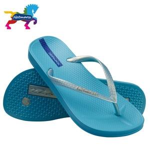 Image 5 - Hotmarzz Women Summer Beach Slippers Slim Flip Flops Soft House Slippers Summer Sandals Ladies Shower Shoes