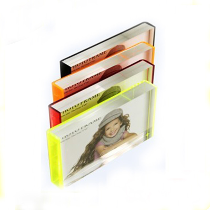 High Transparent Rectangle Acrylic/Plexiglass Wedding Picture Frames ...