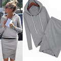 2017 Fashion Women Sportswear Autumn Winter Tracksuits Long-sleeve Casual Track Suit Costumes Mujer 2 Piece Set