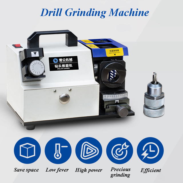 3-13mm Drilling Bits Grinding Machine 160W Standard Equipped With CBN Diamond Wheel Grinding For HSS Marerial Drilling TD13-B