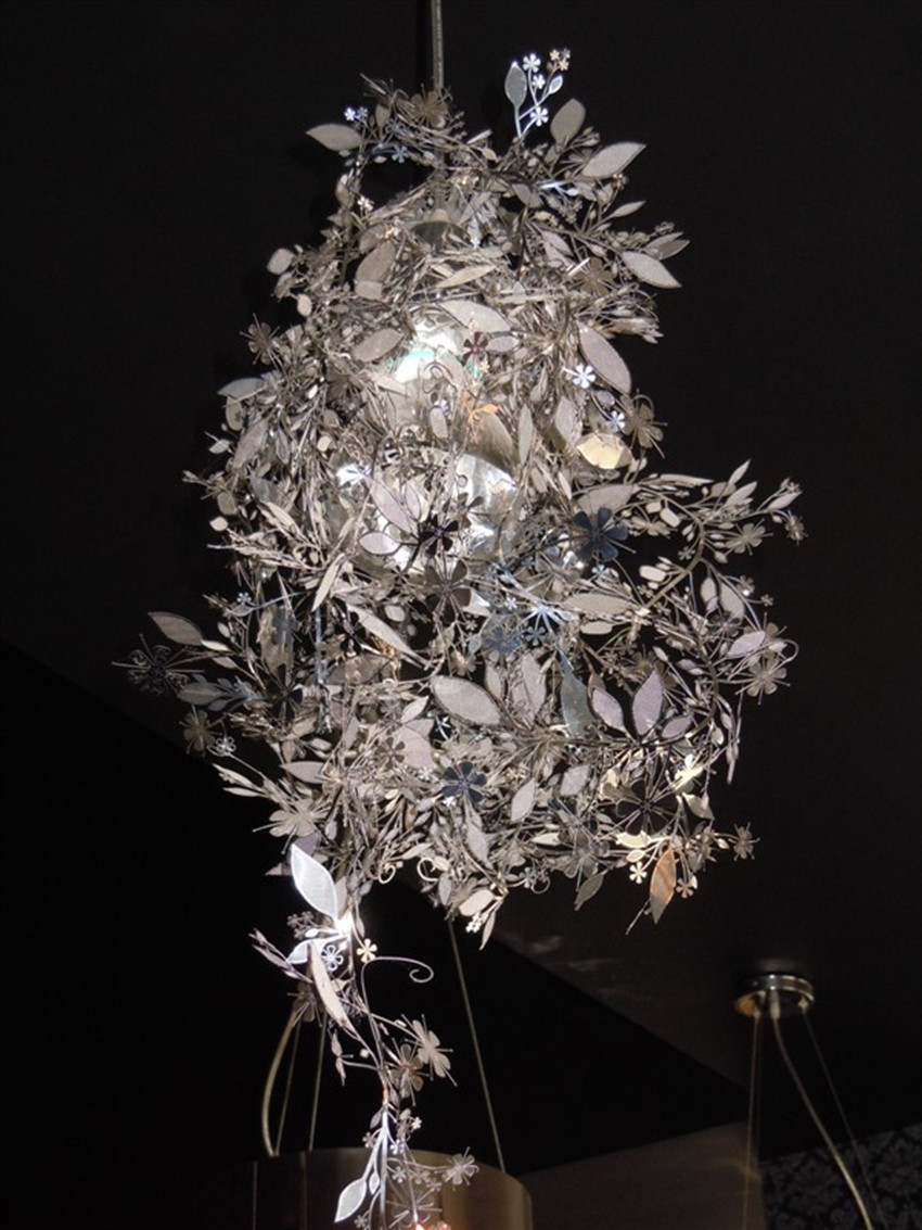 Beautiful Tord Boontjeu0027s Garland Light Shade By Habitat Flower Lamp Pendant DIY Light  Black White Gold Silver Artecnica Garland Light In Pendant Lights From  Lights ... Pictures