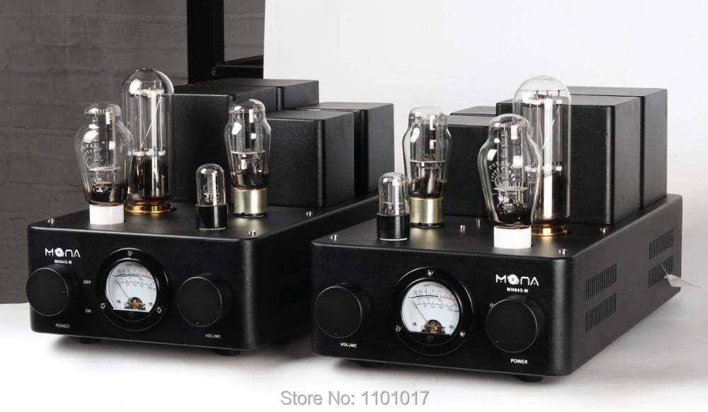Himing Mona Monoblock 845 tube amplifier with 300B driver HIFI EXQUIS Class A mono block amp RH845300M for Pair-in Amplifier from Consumer Electronics    2