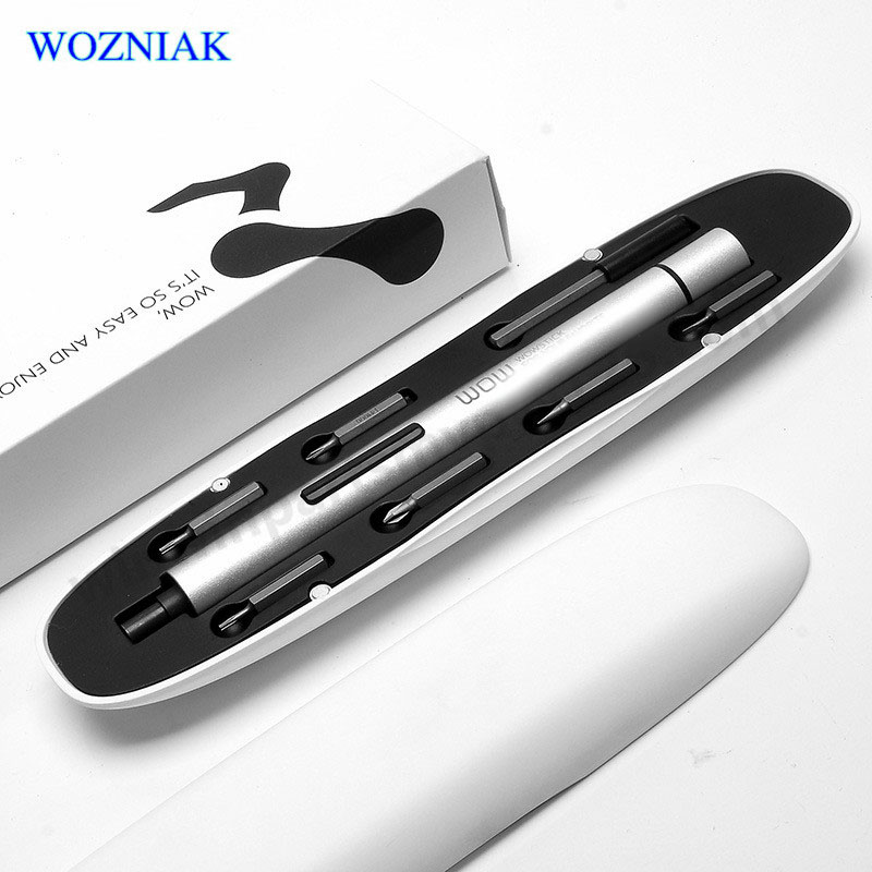 Mini WOWSTICK electric screwdriver 1 fs smart li ion battery cell phone digital computer repair small
