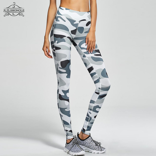 Camouflage Pants Women Sexy Fitness Leggings Harajuku Army Trousers Stretch Legging For Girls Graffiti Style Free Drop Shipping