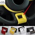 1 pc Auto aufkleber carbon fiber ABS material instrument panel dekoration abdeckung für 2003-2012 Volkswagen VW Käfer