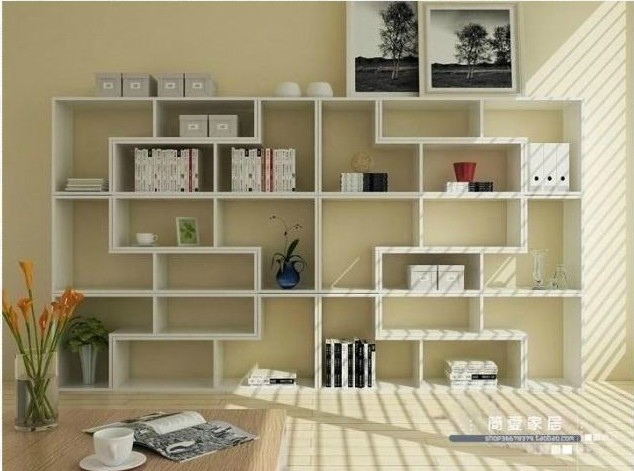 Manufacturers Lowest, L Shaped Shelf Bookcase Bookcase Display Cabinet  Containers Cabinet Free Combination Living Part 66