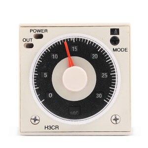 Реле задержки таймера от 24 до 240 В переменного/постоянного тока 1,2 с до 300 ч, 8 штифтов и розеток