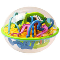 299 Barriers 3D Ball Maze Perplexus Ball Puzzle Labyrinth Magical Intellect Maze Ball Intelligence Educational Toys