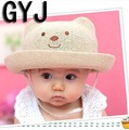 baby hats summer girls 1 to 6 years kids panda beach swimming sun girls caps children's hat for baby girl sun hats baby sun hats