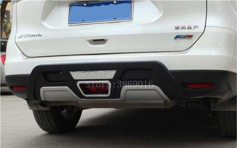 Misura Per Nissan X Trail X-trail Xtrail T32 In Plastica Abs Paraurti Posteriore Protector Skid Protezione Della Protezione 1 Pcs