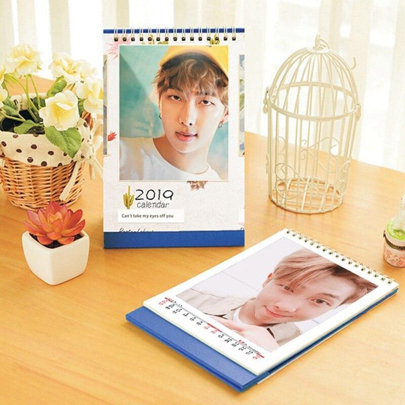 Office & School Supplies Kpop Bts Bangtan Boys Album V Jung Kook 2019 Mini Bild Foto Schreibtisch Kalender Karte Bücher Fans Geschenk Kalender, Planer Und Karten