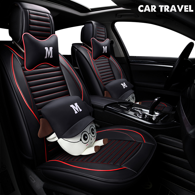 Pu siège de voiture En Cuir couverture Pour bmw x5 e70 ford fiesta mk7 mazda 6 gh skoda kodiaq subaru xv opel auto accessoires voiture-style
