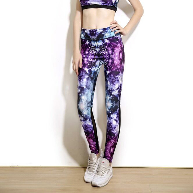 Colorful Space Printed Leggings