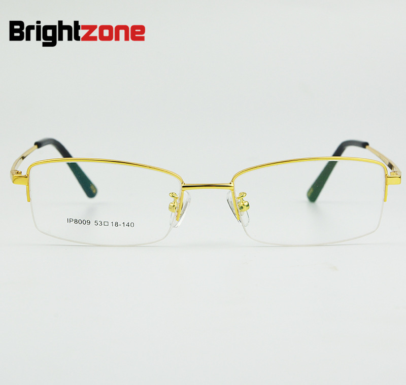 696c827b5fa Titanium Frame Glasses Myopia Male Fund Glasses Frame Low Price Promotion  Ip Electroplate No Paint Will