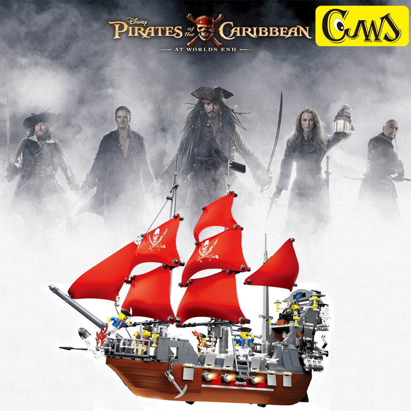 compatible legaoes,lepin Pirate Ship Series 1123pcs Black Beard 3D blocks Educational model building toys for children gift susengo pirate model toy pirate ship 857pcs building block large vessels figures kids children gift compatible with lepin