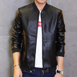 Tg6228 cheap wholesale 2016 new male youth men s fashion pu leather jacket in the spring.jpg 250x250