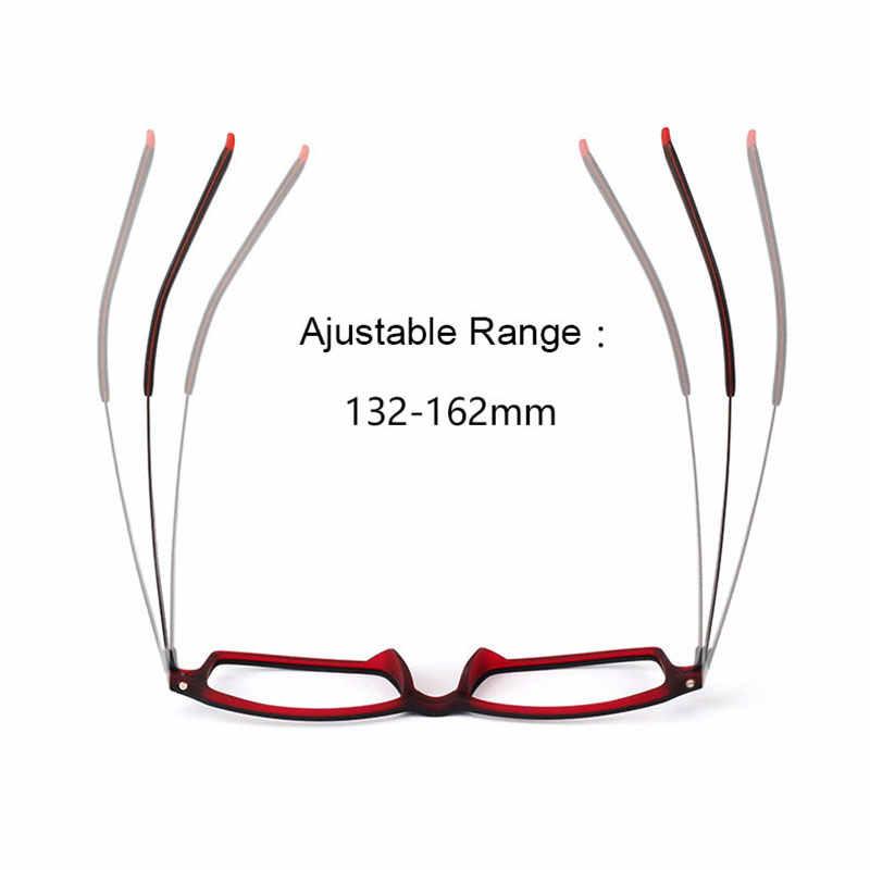 Reven Jate 7011 Full Rim Fleksibel Bingkai Murni Titanium Super Ringan Kuil Kaki Resep Kacamata Bingkai Kacamata Optik Kacamata