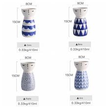 girl Vase Ceramic Home Decor Flower Pots Planters Porcelain Flower Vase Home Decor
