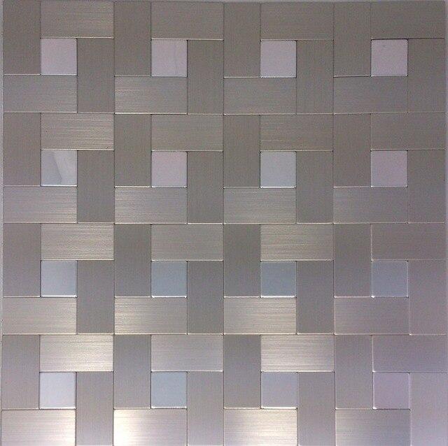 Wall stickers aluminum self adhesive bathroom mirror shower wall ...