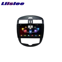Для Nissan Tiida C13 2011 ~ 2017 LiisLee Автомобильный мультимедийный ТВ DVD gps аудио Hi Fi Радио Стерео оригинальный Стиль навигации NAVI