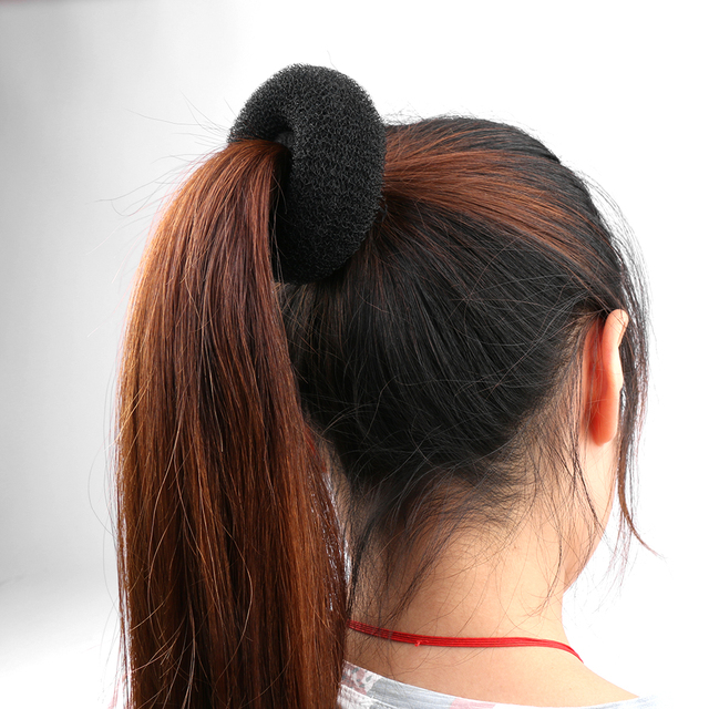 New Hot Fashion Elegant Women Ladies Girls Magic Shaper Donut Hair Ring Bun Fashion Hair Styling Tool Accessories