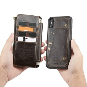 Image 1 - Geldbörse Armband Telefon fall Für Iphone 11 pro max Ix Xr Xs Max 6 6s 7 8 Plus Se 2020 Apple Coque Luxus Leder Schutzhülle