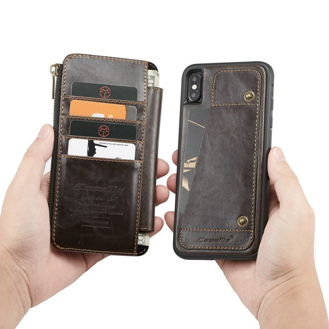 Purse Wristlet Phone case For Iphone 11 pro max Ix Xr Xs Max 6 6s 7 8 Plus Se 2020 Apple Coque Luxury Leather Protective Cover