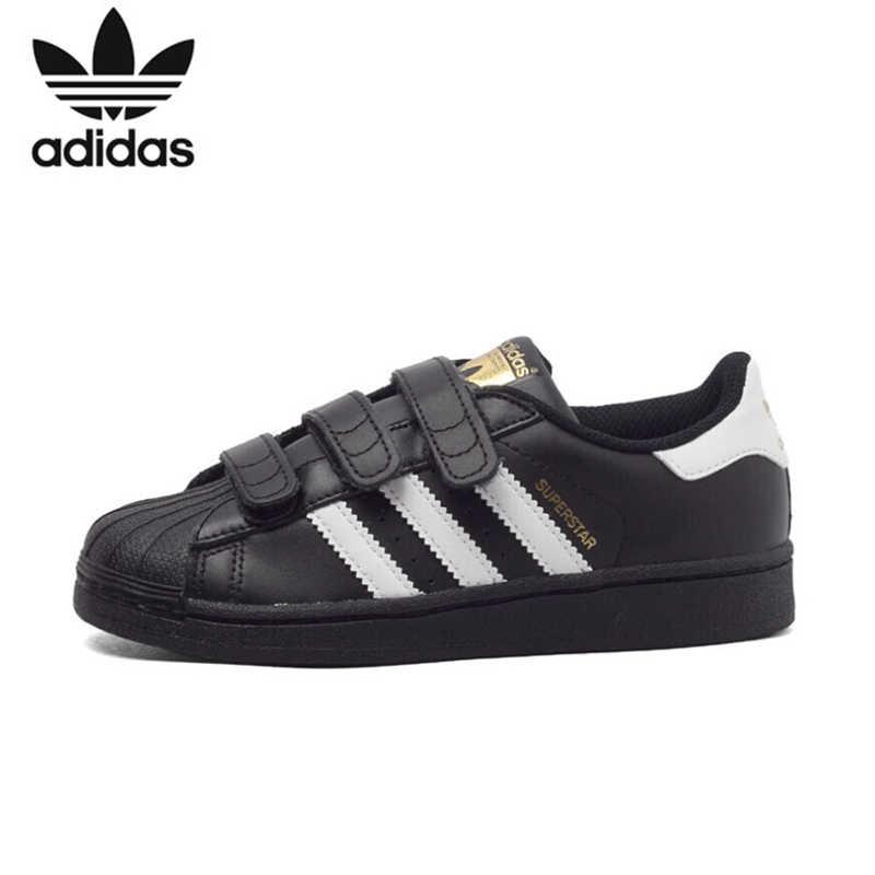 Детская обувь Superstar original, легкая обувь для скейтбординга, дышащие детские спортивные кроссовки # B26070 B26071