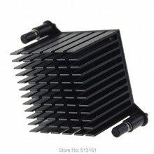 5 Pieces Northbridge Radiator 38x38x30mm PC CPU Aluminum Cooling Heatsink Cooler 1pcs pc cooler small fish northbridge radiator copper north bridge chipset heatsink with crystal f 46 cooling fan 40 20mm