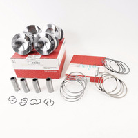 NEW 06H 107 065 AM Pistons & Rings Assembly Set 82.51mm Pin 21mm For Audi A3 A4 Q5 VW GTI Passat 2.0 TFSI 06J 198 151 B