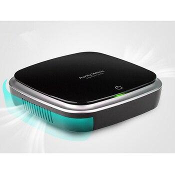цена на Portable Negative Ion Air Purifier USB Car Air Purifier Freshener Mist Cleaner Auto Fresh Air Purifier Oxygen Ion Generator