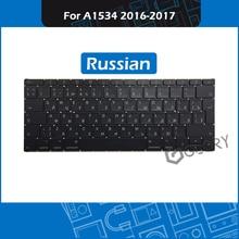 Genuine A1534 Keyboard Russian Layout For Macbook Retina 12″ A1534 RU keyboard Replacement 2016 2017 Year