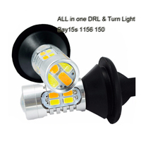 2x Led Car Front Turn Signal Light Drl Led Daytime Running Light Turning Light Drl Turn