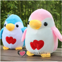 Free shipping 20cm cute artificial penguin plush animal stuffed toy gift for friend kid child boys girls birthday wedding lovely