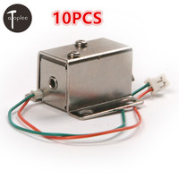 High Quality Ultra Compact Locks Free Shipping 10 PCS DC 12V Cabinet Door Electric Lock Assembly