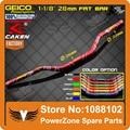 "Motorcycle Motocross 1-1/8"" 28mm Handlebars Handle Fat Bar Tubes For CR125 CR150 CR250 CR500 CRF230 CRF250 CRF450 CRF250R KTM YZ"