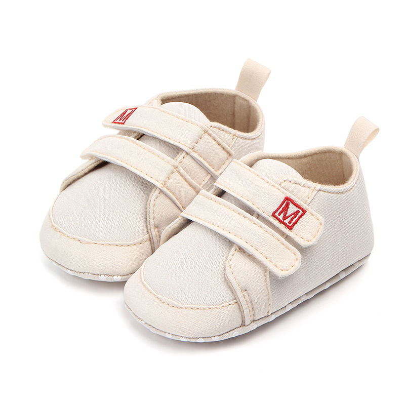 Cuna Primeros caminantes Casual Prewalker Sneakers Zapatos de bebé Lienzo