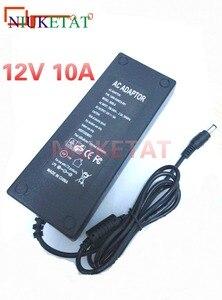 Image 1 - LX1210 DC 12V 10A 전원 12V10A AC 100V 240V LED RGB 전원 어댑터 LED 스트립에 대 한 드라이브 전원 공급 장치 5050 2835 12V 10A 전원