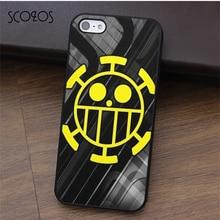 SCOZOS Pirates Trafalgar Law One Piece phone case for iphone X 4 4s 5 5s Se 5C 6 6s 7 8 6&6s plus 7 plus 8 plus #fa476