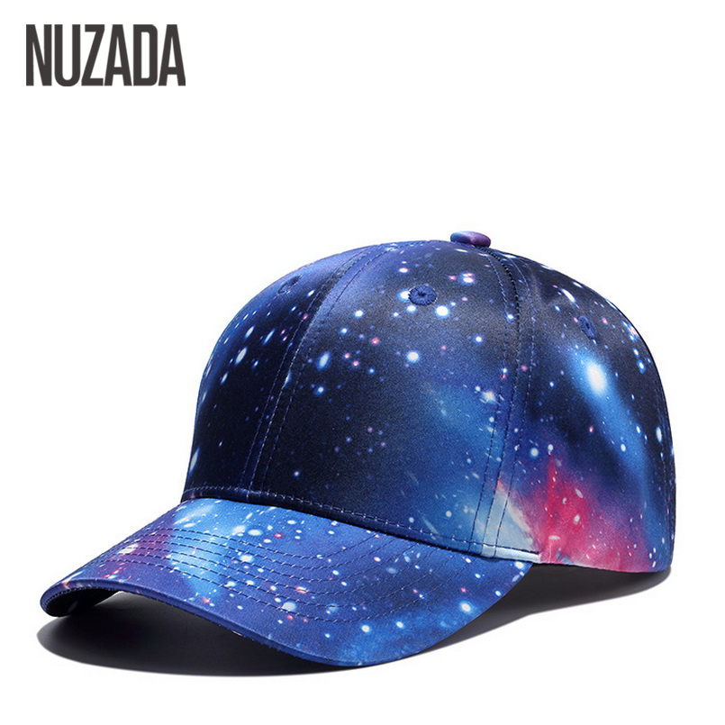 Brand NUZADA Snapback Summer Baseball Caps For Men Women Fashion Personality Polyester Cotton Printing Pattern Cap Hip Hop Hats boapt unisex letter embroidery cotton women hat snapback caps men casual hip hop hats summer retro brand baseball cap female