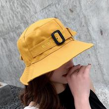 SUOGRY 2018 New men women belt buckle Bob Bucket Hats Outdoor Fishing Protection Cap Men Hiking Sombrero