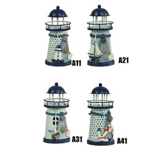 Lighthouse Candle Holders for Home Decor