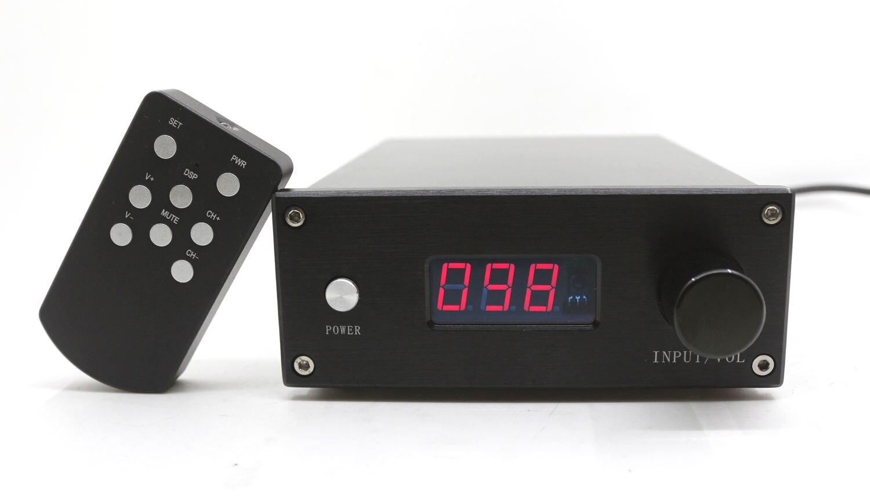 DIYERZONE HIFI télécommande 128 étapes préamplificateur de Volume 2 canaux résistances pures relais préampli