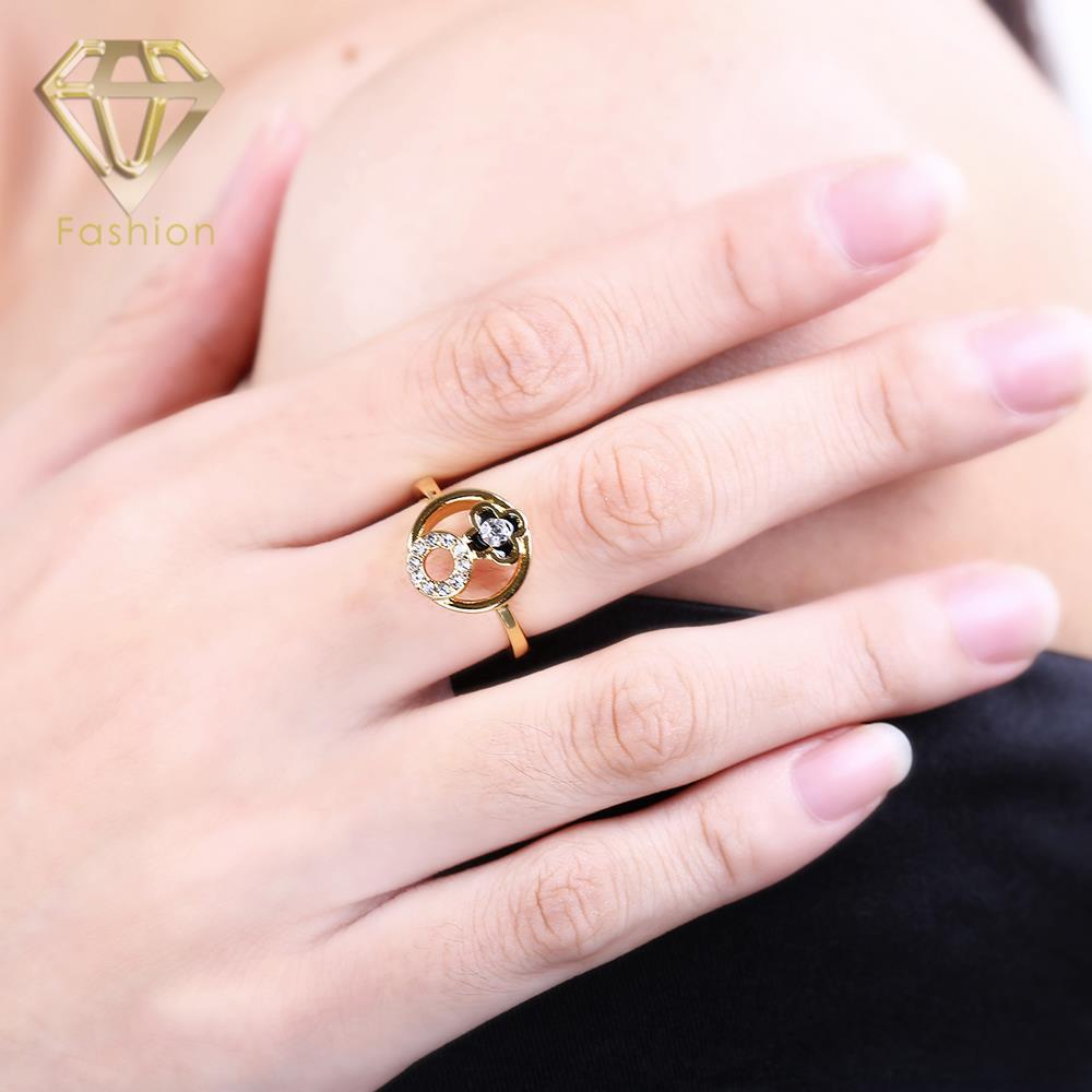 Vintage Engagement Rings UK Unique Design Clover&Circle in Hollow ...