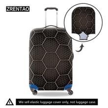 Geometric Suitcase Protective Cover Holiday Luggage Trolley Case Protector Covers For Men Women Kids 18/22/24/26/28/30 Inch Case dispalang covers for suitcases anti dust luggage protective covers for 18 20 22 24 26 28 30 inch dirtproof luggage cover flowers