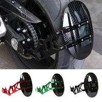 Motorcycle Accessories CNC Refit Rear Wheel Fender Mudguard For Kawasaki Z1000 Z 1000 Z1000SX 2010 2011