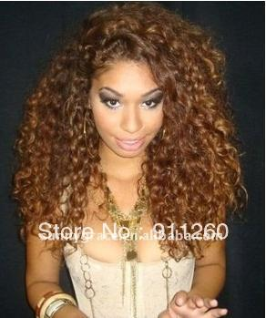 "20"" two tone color curly 100"