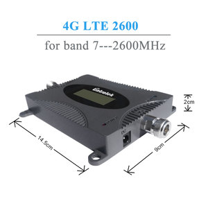 Image 2 - Lintratek LCD Display 4G LTE Signal Booster 2600MHz 4G Antenna Mini FDD 4G LTE 2600 Band 7 Mobile Signal Repeater Amplifier Kit@