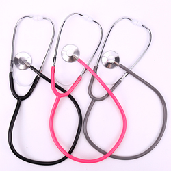 1PC Stethoscope Aid Single Side EMT Clinical Stethoscope Portable Medical Auscultation Stethoscope Equipment Medical Tool